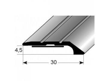Ukončovací profil  30 x 4,5 mm, samolepící