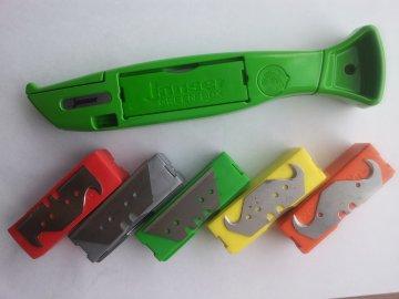 Nože a čepele Janser
