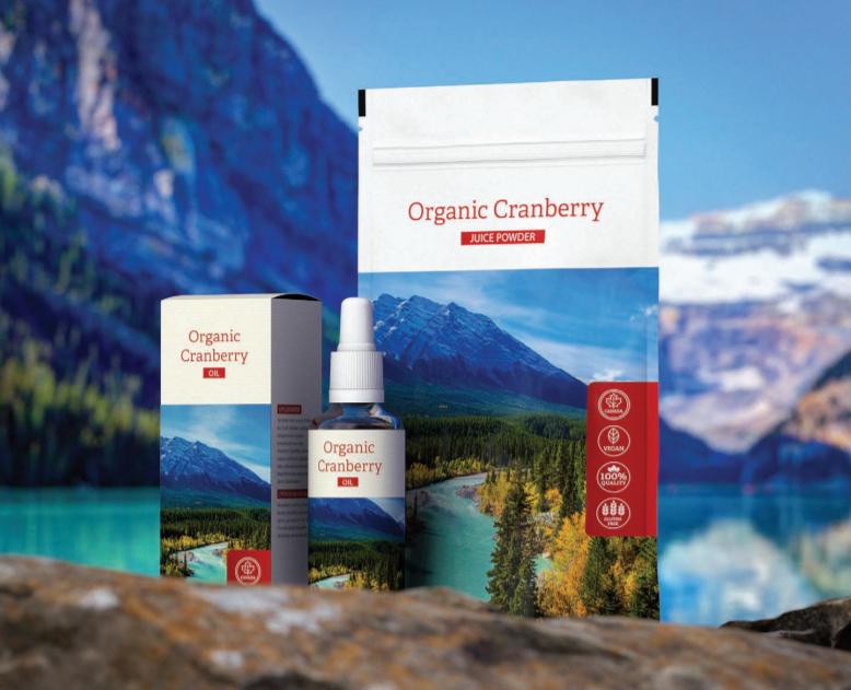 Organic Cranberry juice powder a oil