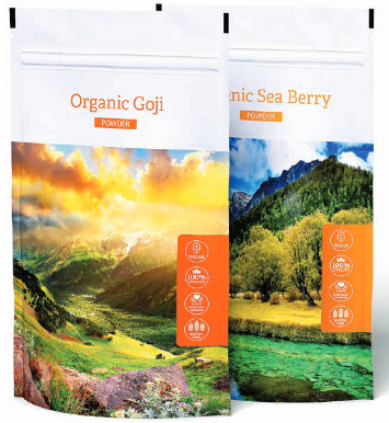 ORGANIC GOJI + ORGANIC SEA BERRY