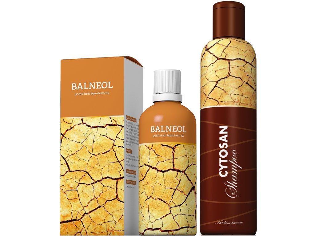 BALNEOL+zdarma CYTOSAN šampon
