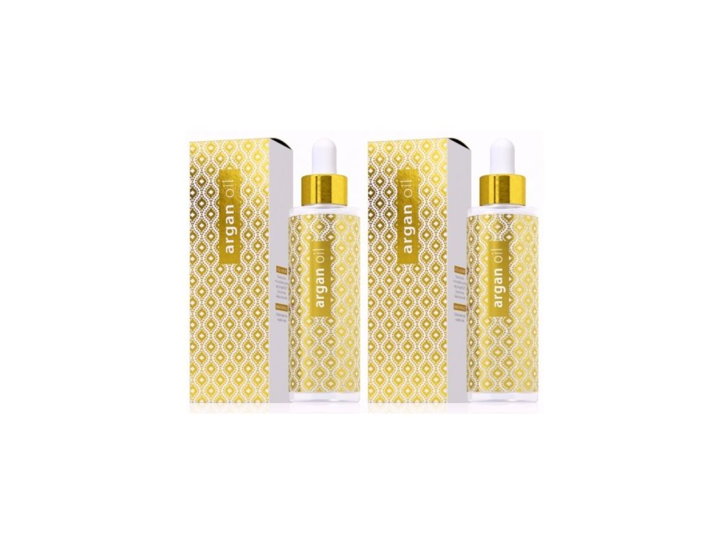 2x Argan oil