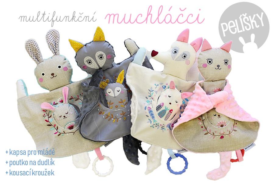Muchláčci - hračky pro miminko