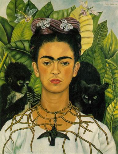 frida-kahlo-paintings-self-portrait