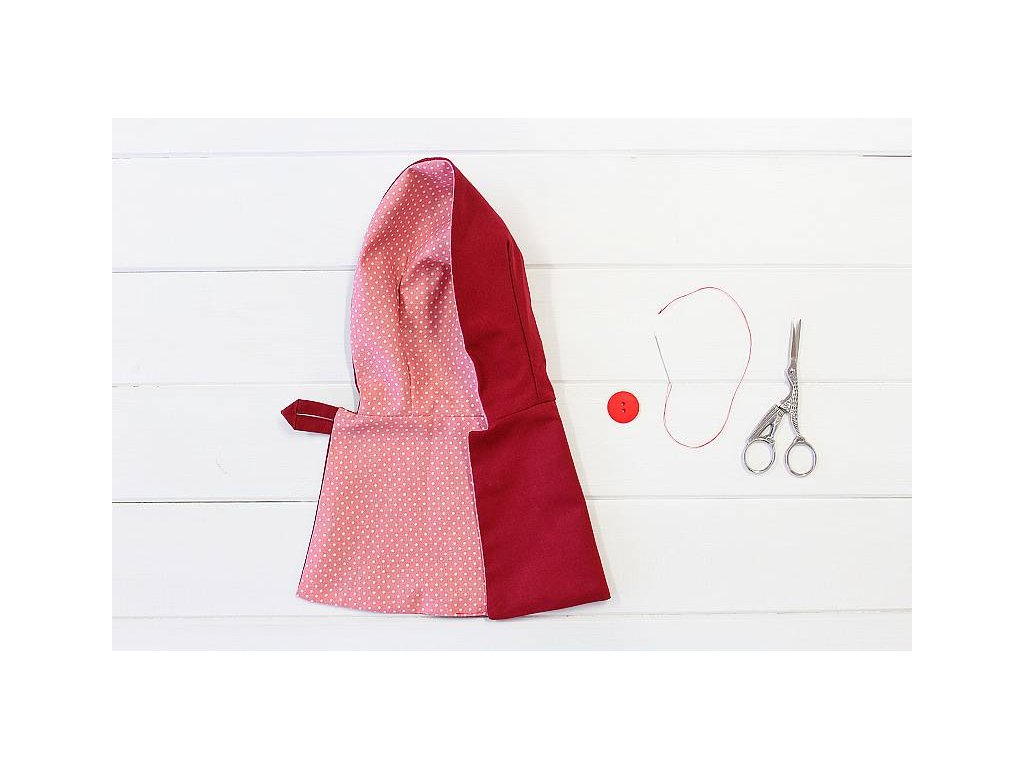Plášť pro panenku - střih PDF