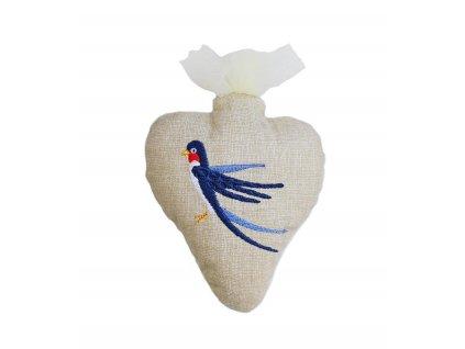 srdce vlaštovka