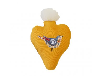 srdce žluté