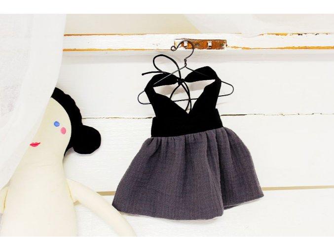 Šaty - střih na panenku