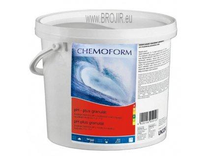 pH plus  granulát, balení 3 kg- bazénová chemie chemoform