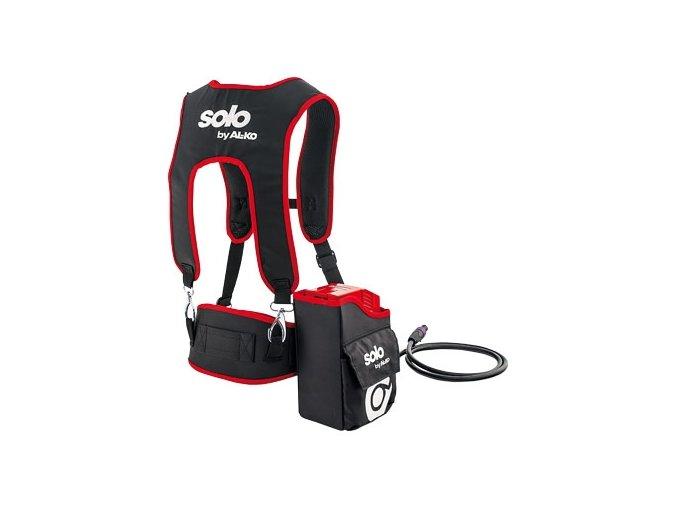 Zádový popruh s kapsou na akumulátor SOLO Power Flex BTA 42