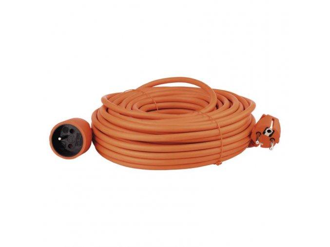 Prodlužovací kabel – spojka, 25m, oranžový