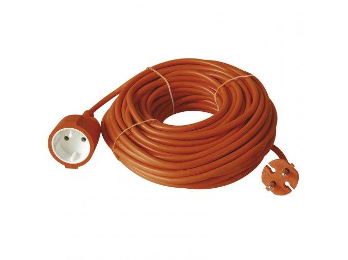Prodlužovací kabel dvoužílový oranžový 15m