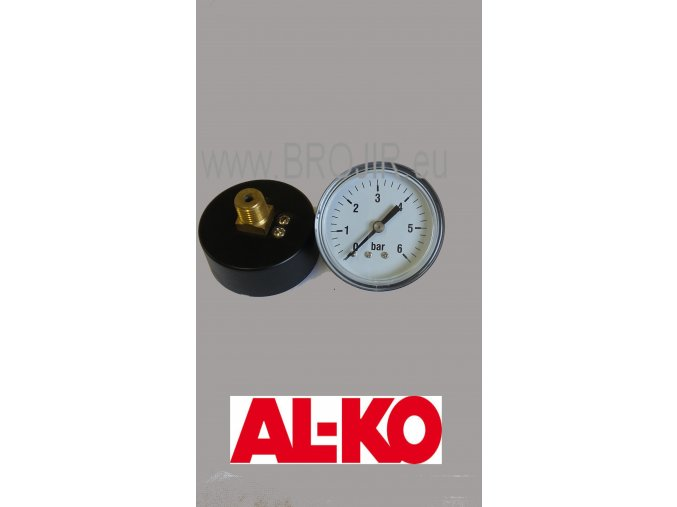 Manometr pro vodárnu AL-KO HW601/HW 801/HW 1000/HW 1300 HW 3000/HW 3500