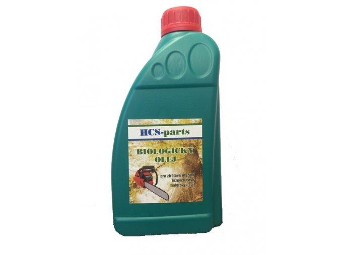 Bio olej ztrátový pro mazání