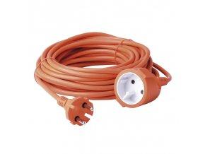 Prodlužovací kabel dvoužílový oranžový 10m