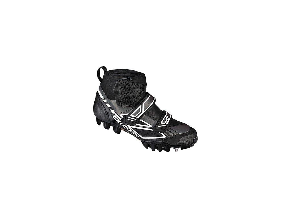 EXUSTAR SM3103 Tretry MTB black white - Bronec Sport eb5f6f86b8