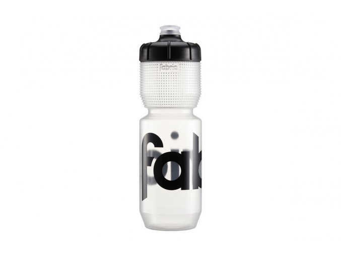 2021 FABRIC LÁHEV 750ml GRIPPER BOTTLE CLEAR/BLACK CAP (FP5108U0175)