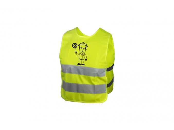 KELLYS Dětská reflexní vesta STARLIGHT police