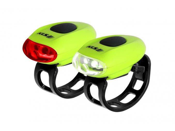 KELLYS Osvětlení set KLS EGGY, lime green