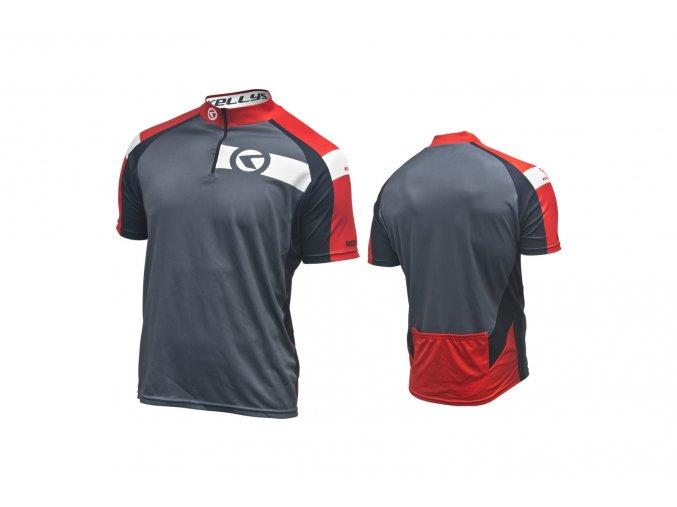 KELLYS Dres PRO Sport krátký rukáv red - (016)