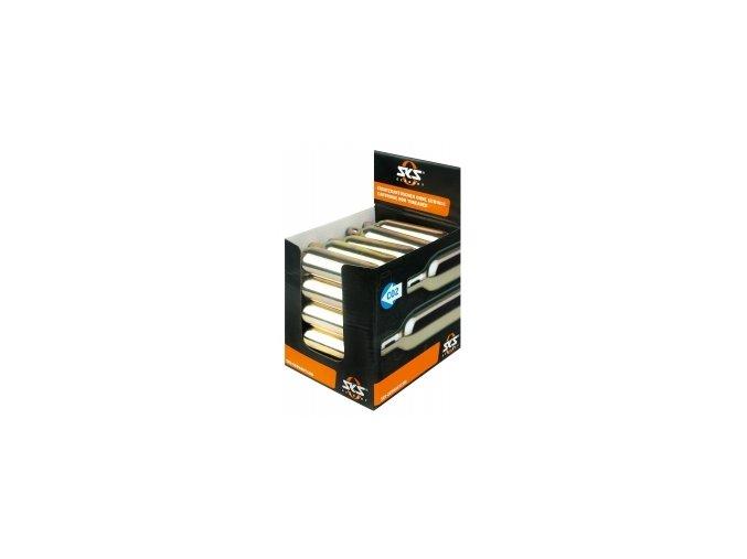 SKS CO2 bombička - Display box 25 ks, bez závitu, 16g, pro pumpičku SKS Airchamp 2017