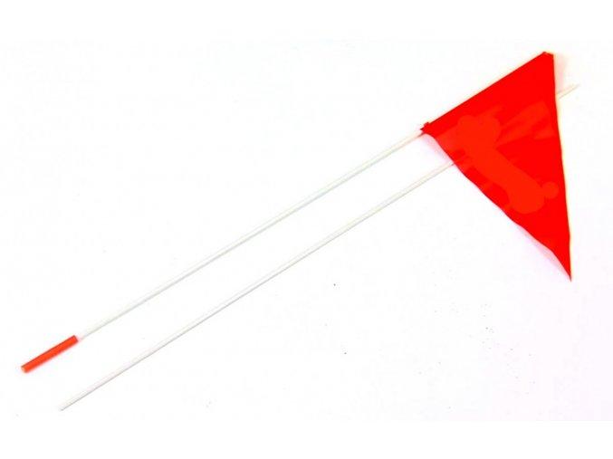 QERIDOO Příslušenství - Náhradní vlaječka 2019