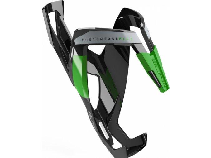 košík ELITE Custom Race Plus Black, zelený graphic