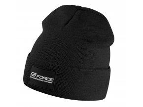 čepice zimní FORCE BRAND, černá