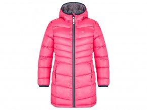 kabát dětský LOAP INGRITT zimní růžový