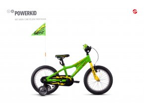 GHOST Powerkid 16 green / yellow