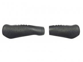 gripy ergo M-Wave 131 + 92 mm černé