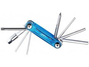 klíč imbusový BBB PrimeFold S 9 funkční modrý