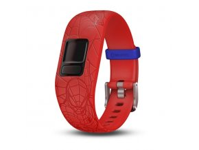 Řemínek pro vivofit junior2, Spider-Man Red