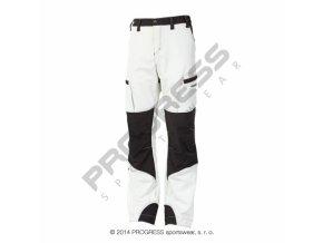 kalhoty dlouhé pánské Progress KANDAHAR zateplené bílo/černé