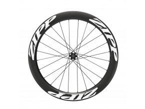 Zapletené kolo ZIPP 404 Carbon Tubeless Disc Brake 6-Bolt 700c 77D Front 24Spokes Convertible-Quick Release, 12mm & 15mm Through Axle White Decals A1