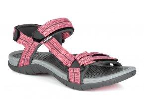 boty dámské LOAP CICSA sandály růžové