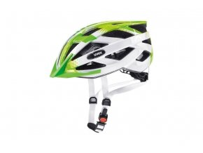 20 UVEX HELMA AIR WING, LIME WHITE