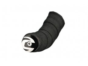 18 CANNONDALE ZÁSLEPKA ŘIDÍTEK LIGHT HANDLEBAR PLUGS (CP1108U14OS/BLACK-WHITE)