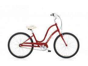 ELECTRA Townie Original 3i Ladies' Cranberry Red 2017
