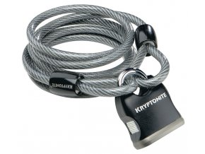 KRYPTONITE Kryptoflex 818 Cable and Padlock