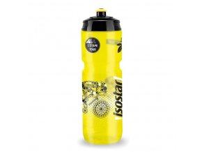 lahev ISOSTAR 800ml BIDON CYKLISTA žlutá - černé víčko