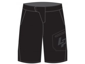LAPIERRE oblečení Men's XC Black Short 2019