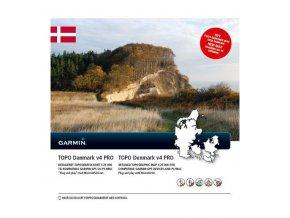 Turist. mapa Dánsko, TOPO Denmark v4 PRO, microSD/SD