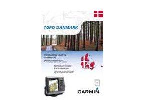 Turist. mapa Dánska, TOPO Danmark microSD/SD