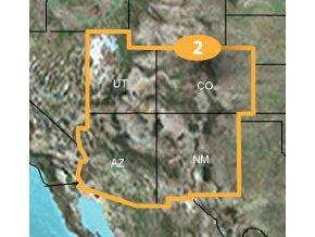 Turist. mapa TOPO US 24K Southwest, MicroSD/SD