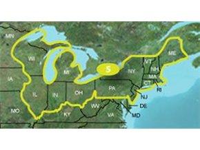 Turist. mapa TOPO US 24K Northeast,MicroSD/SD