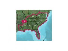 Turist. mapa TOPO US 24K Southeast, MicroSD/SD