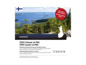 Turist. mapa Finsko, TOPO Finland v4 PRO, microSD/SD