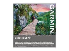 Turist. mapa jadranských zemí AdriaTOPO v4 PRO microSD/SD
