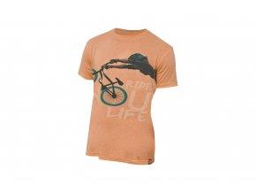 KELLYS Tričko DIRT krátký rukáv Orange